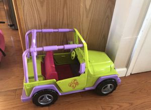 American Doll Jeep & motorcycle set for Sale in Manalapan Township, NJ