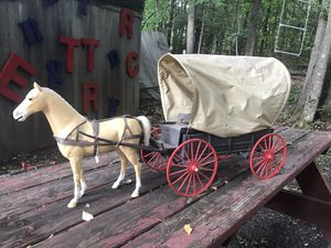 Johnny west horse and buggy $30 for Sale in Rensselaer, NY