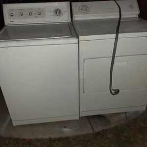 Kenmore Elite Washer, Whirlpool Electric Dryer for Sale in Modesto, CA