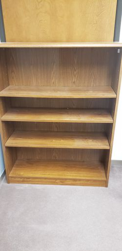 FREE BOOKCASE BOOK SHELF for Sale in Wilsonville,  OR