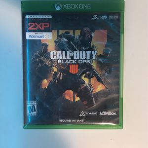 Call Of Duty Black Ops 4 for Sale in North Bend, WA