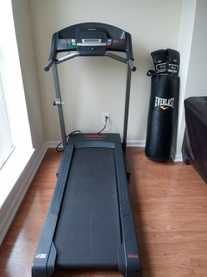 Treadmill & punching bag combo for Sale in Baltimore, MD