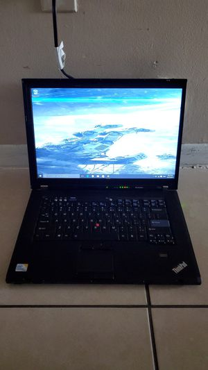 Lenovo Thinkpad T500 Laptop with Charger for Sale in Sunrise, FL