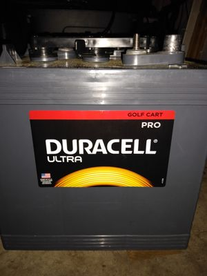 Four Duracell 6volt golf cart batteries for Sale in Vancouver, WA