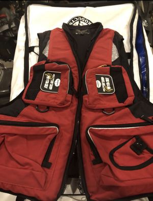 Fishing life vest for Sale in Highland, CA