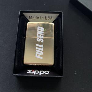 Full Send x Zippo Lighter 836/1000 for Sale in Ewing Township, NJ