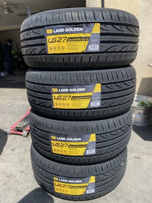 235/50R18 FOUR BRAND NEW TIRES , INSTALLATION & BALANCING INCLUDED for Sale in Rialto, CA