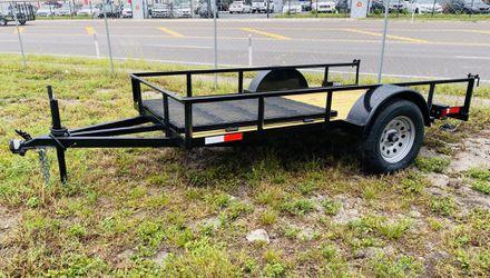 5x10 Single Axle Utility Trailer for Sale in Tampa,  FL