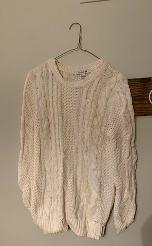 Ivory women's sweater for Sale in Alexandria, VA