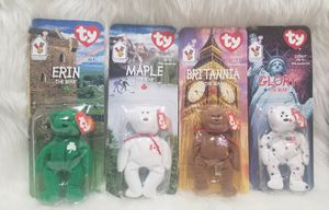 Lot of 4 Collectible Ty Beanie Babies~McDonalds Promo for Sale in Etiwanda, CA