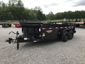 2021 14' H&H BUMPER PULL DUMP TRAILER for Sale in North Jackson, OH