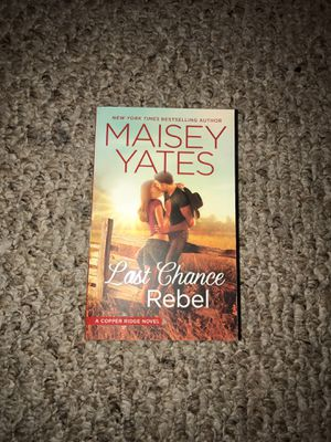 Last Chance Rebel - Maisey Yates book for Sale in Albia, IA