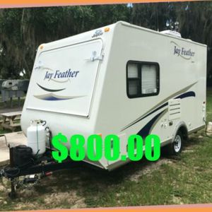{Jayco Jay Feather}Gray Wastewater Capacity (gals.): 30.5 for Sale in San Francisco, CA
