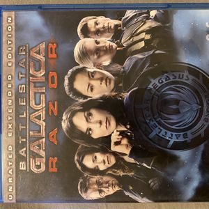 Battle Star Galactica Bluray Bundle Movie Night 🍿 🎥 De for Sale in San Antonio, TX