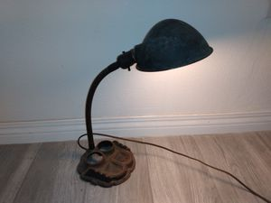 Oldest lamp on planet Earth ink quill holders antique vintage retro patina Victorian colonial 1700 1800 1900 for Sale in Los Angeles, CA
