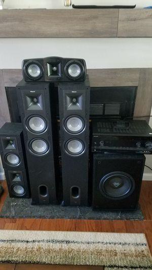 Bocinas Klipsch y Amplificador Sony for Sale in Littleton, CO
