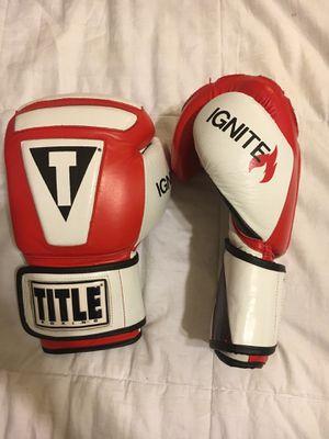 Title Ignite Pro 16 Oz boxing gloves for Sale in Santa Monica, CA