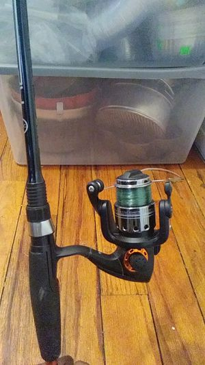 Fishing rod and reel for Sale in Richmond Heights, OH