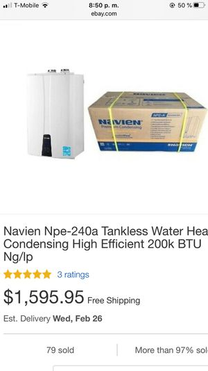 Tankless Gas Water Heater for Sale in Cranston, RI