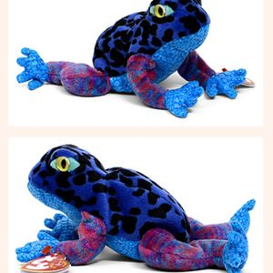 """ORIG Ty Beanie Baby """"DART the Frog"""" (8"""") MINT w/ MINT TAGS TIE DYED RARER Colors for Sale in Fort Lauderdale, FL"""