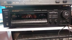 sony audio video control center receiver phono video cd tuner tv inputs $50 for Sale in San Diego, CA