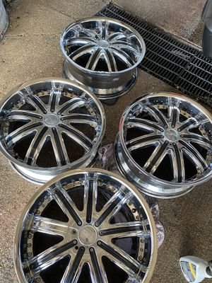 "20"" universal rims for Sale in Elgin, IL"