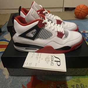 """Nike Air Jordan 4 Retro OG """"Fire Red"""" for Sale in Long Beach, CA"""