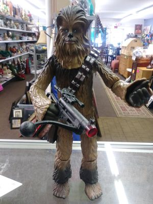20 inch tall talking Chewbacca Star Wars action figure for Sale in Tampa, FL