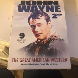 John Wayne 2 DVD set for Sale in Columbia, SC