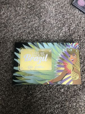 Bh cosmetics eyeshadow pallet take me back to Brazil rio for Sale in Minneapolis, MN