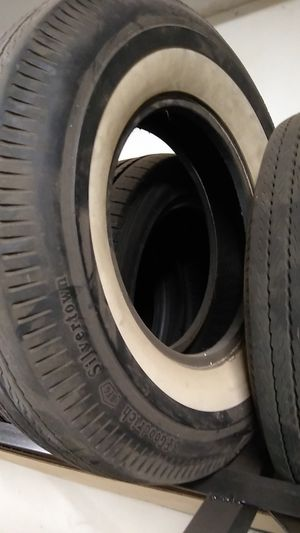Old school tires like brand new for Sale in Blackstone, MA