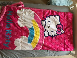 """Hello Kitty sleeping bag 50"""" by 28"""" for Sale in Tigard, OR"""