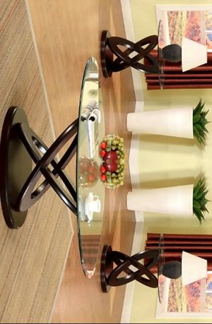 Cyclone 3-Piece Coffee Table Set (1xCoffee 2xEnd) for Sale in Houston, TX
