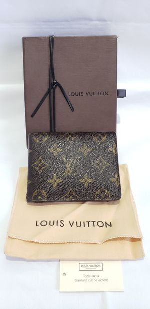 Authentic Louis Vuitton Monogram Multiple Bifold Mens Wallet for Sale in Las Vegas, NV