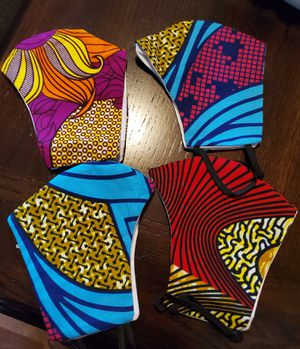 African print face masks restocked for Sale in Baltimore, MD