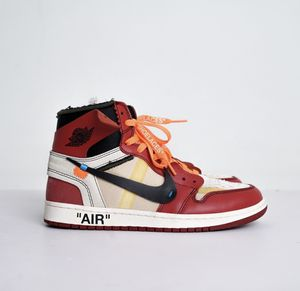"Off white x Nike Air Jordan 1 Chicago ""The Ten"" size 8 for Sale in Houston, TX"
