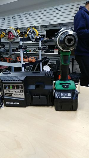 Metabo DV 36DA 36volt cordless Brushless hammer drill with multi volt battery and charger for Sale in Levittown, PA