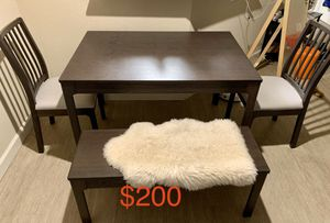 Dining table set for Sale in San Mateo, CA