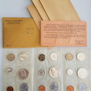 3 Sets 1963 U.S. Proof 90% Silver for Sale in Pompano Beach, FL