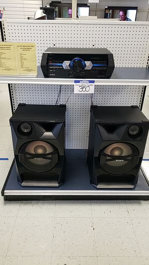 Sony stereo system w/bluetooth ** LAYAWAY $35 DOWN** for Sale in Houston, TX