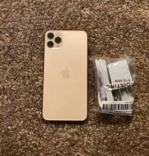 iPhone 11 Pro Max (256Gb:Gold) for Sale in Spokane, WA