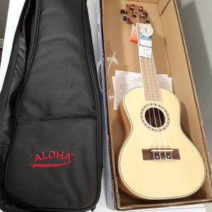 Brand New Aloha 24inch Concert Size Ukulele With Case And Original Box for Sale in Arlington, TX