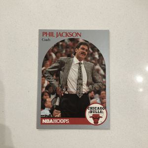 1990 HOOPS #308 PHIL JACKSON BULLS for Sale in Vernon, CA
