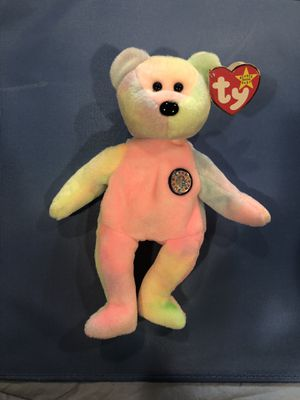 NEAR MINT RARE 'B.B Bear' Beanie Baby w/ Errors and Specialties. ERRORS (Presenting Added Value) • Error in thelast line in the poemextraspace for Sale in Madison, WI