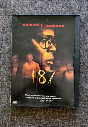 187 DVD Samuel L. Jackson for Sale in San Diego, CA