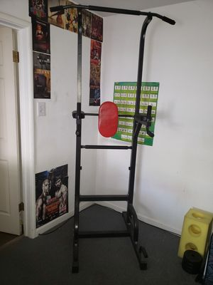 Pull up bar, dips, leg lifts and push ups for Sale in Sacramento, CA
