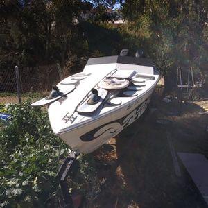 Skarab Panther 30ft Cigarette Boat and Tanem Trailer for Sale in La Mesa, CA
