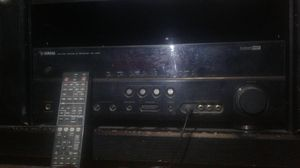 Yamaha Home Theater, 8 inch subwoofer, 5 surround sound speakers for Sale in Fingal, ND