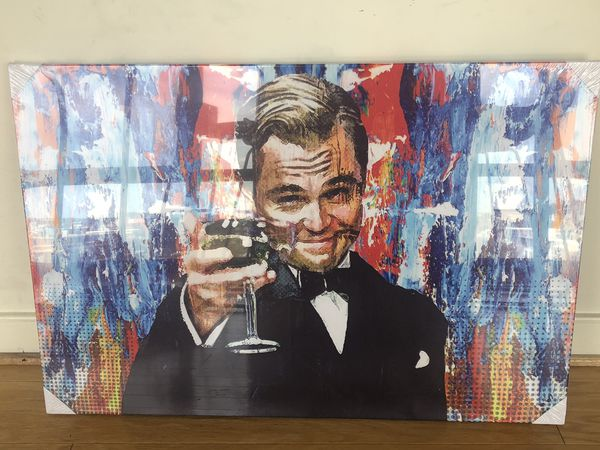 Great Gatsby DiCaprio Print Painting