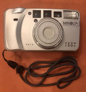 Minolta Zoom 130c Date - Point and shoot 35mm Camera for Sale in Delray Beach, FL